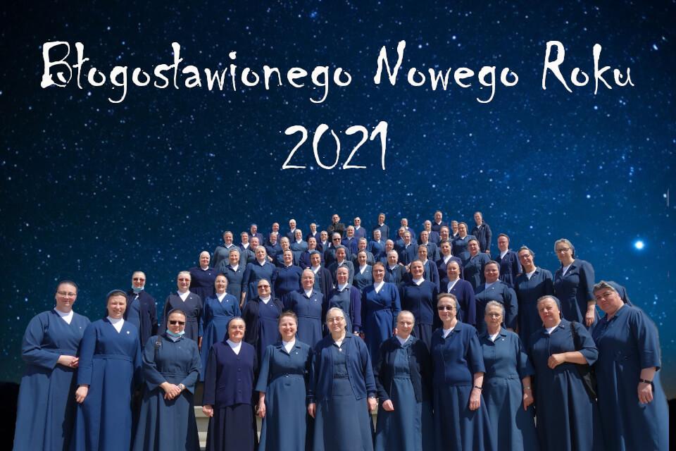 Błogosławionego Nowego Roku 2021
